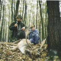 1985. Andyval, a nagyobbik fiammal