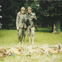 1985. Gemenc / Karapancsa - MAVAD-os vendégem Bleier Józsi bácsival