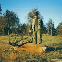 1992-ben Erdélyben, szarvasbőgéskor