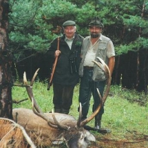 1994-ben Újvárfalván / Somogy m. (Svájci vendégemmel)