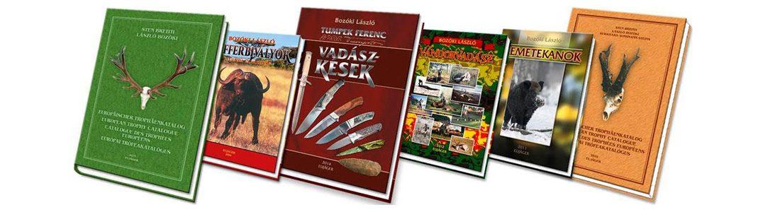 Bozóki László könyvei
