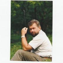 1990-ben Erdélyben, medvevadászat közben