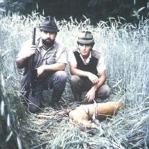 1985-ban, a Nyírségben.